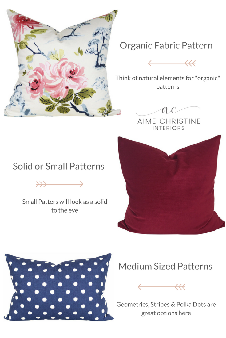 Learn how to mix fabric patterns in 3 easy steps. This formula will ...