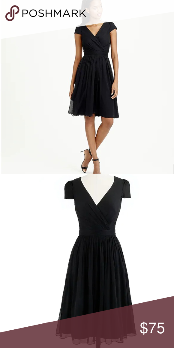 Nwt J Crew Mirabelle Dress In Silk Chiffon We Re Head Over Heels For