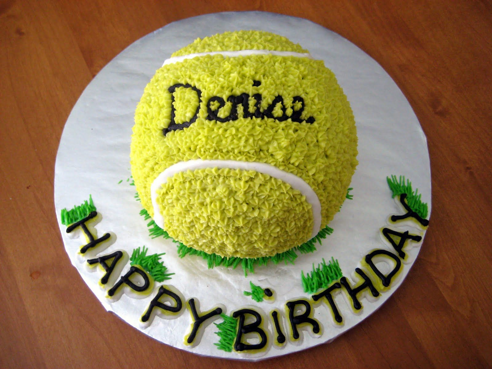 Birthday Cakes For Boys Of All Ages Tennis Cake Tennis Birthday Tennis Birthday Party