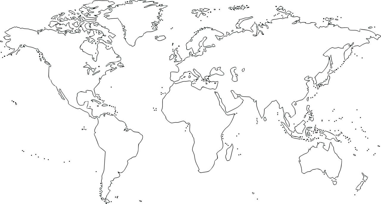 Blank World Map Printable Scrapsofmeme Outline In Pdf Labeled Map