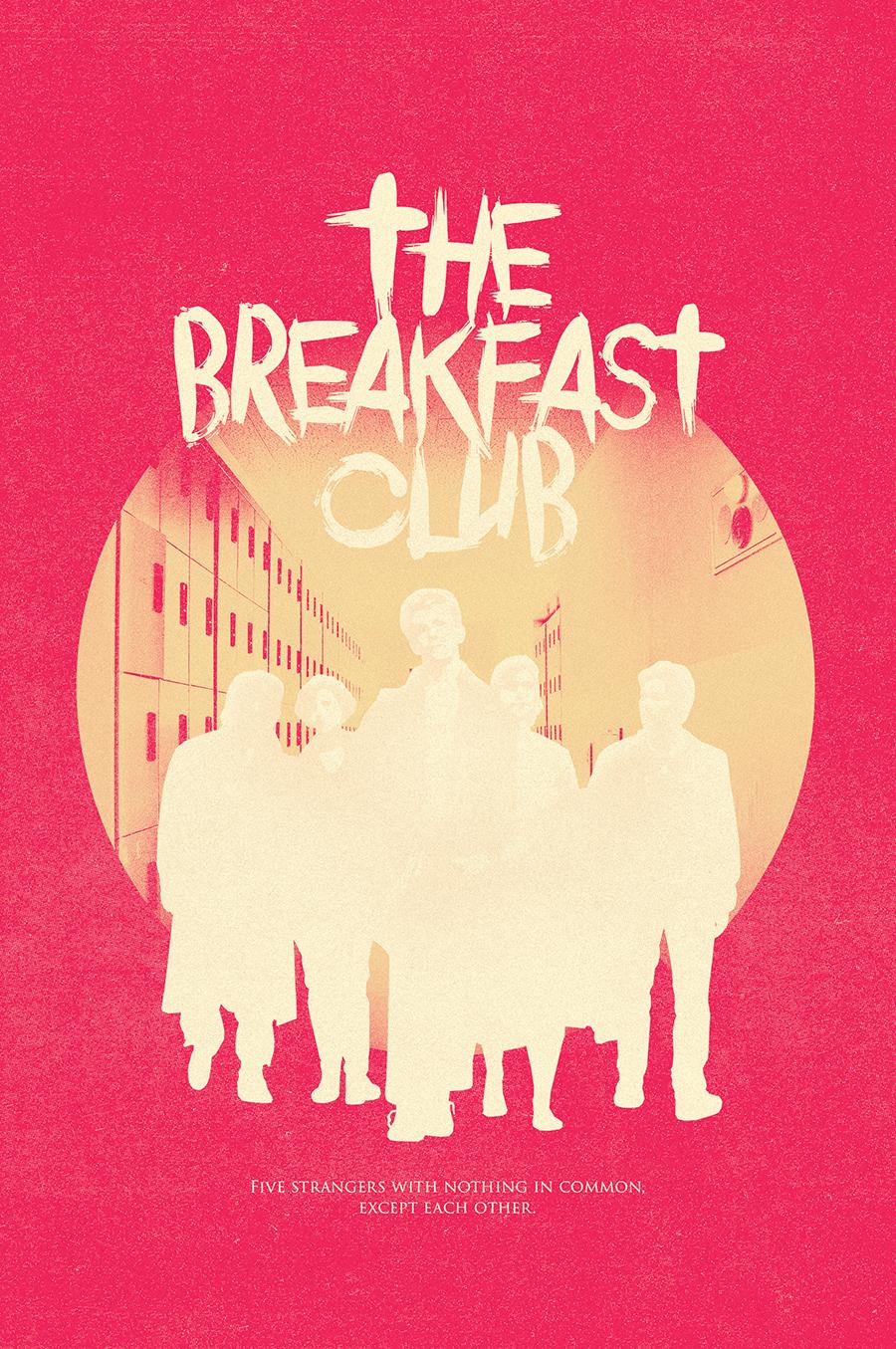 The Breakfast Club - PosterSpy