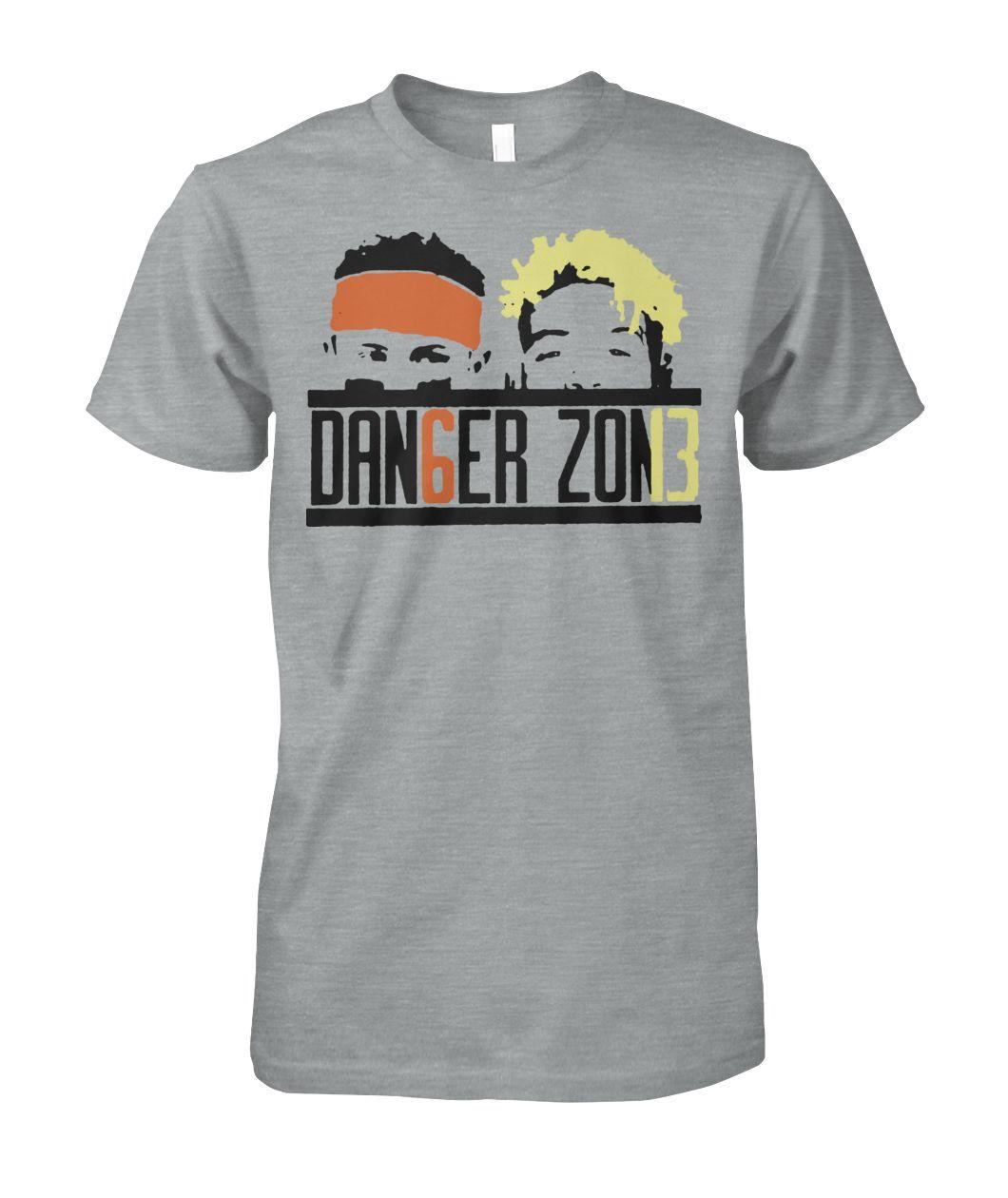 64fcb6415f6 Baker mayfield and odell beckham jr danger zone shirt and badass gildan  hoodie