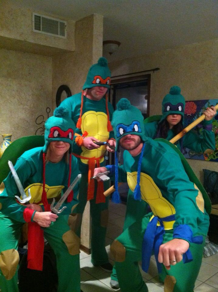 Homemade ninja turtles costumes besides the beanie masks my homemade ninja turtles costumes besides the beanie masks solutioingenieria Image collections