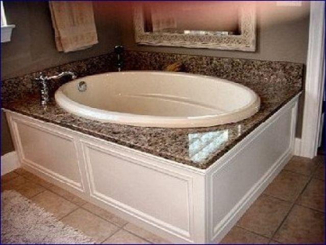 Austin Granite Direct custom bath tub surrounds Gallery (3 Photos ...