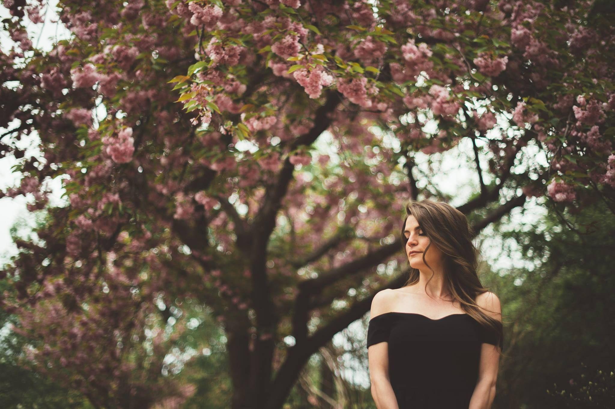 Cherry blossom engagement/ portraits