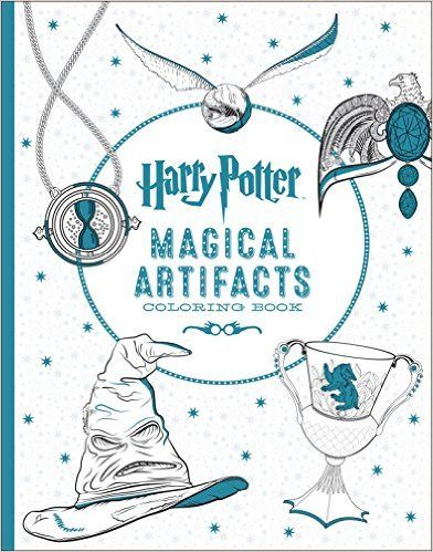 Harry Potter Artifacts Coloring Book Scholastic 9781338030020 Amazon Books