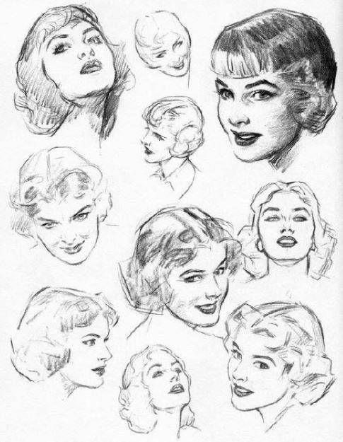 C U00f3mo Aprender A Dibujar Rostros Humanos Paso A Paso  Gu U00eda