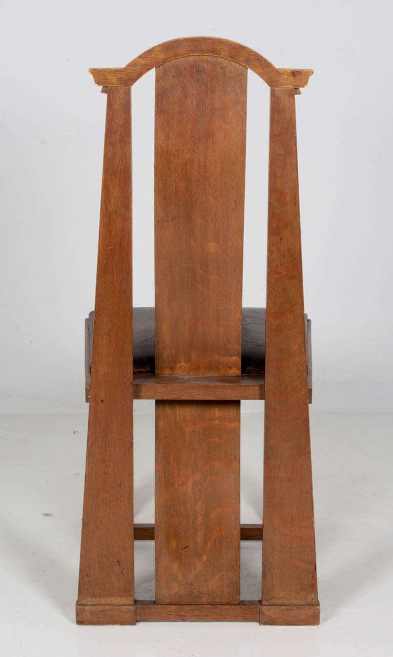 George Washington Maher Rockledge Arts And Crafts Side Chair 1911 1912 6 Chair Side Chairs Vintage Chairs