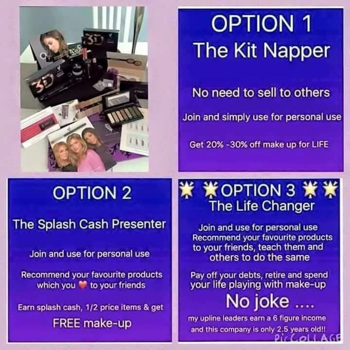 Younique presenter, work from home , stay at home mum, SAHM, £69 only, no other fees ever, to start your business today click join on my website