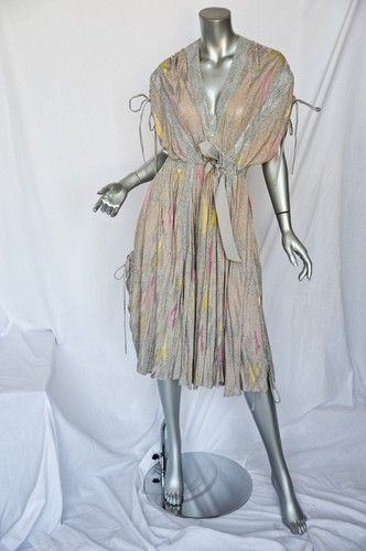 Jeffrey sebelia yellow plaid dress