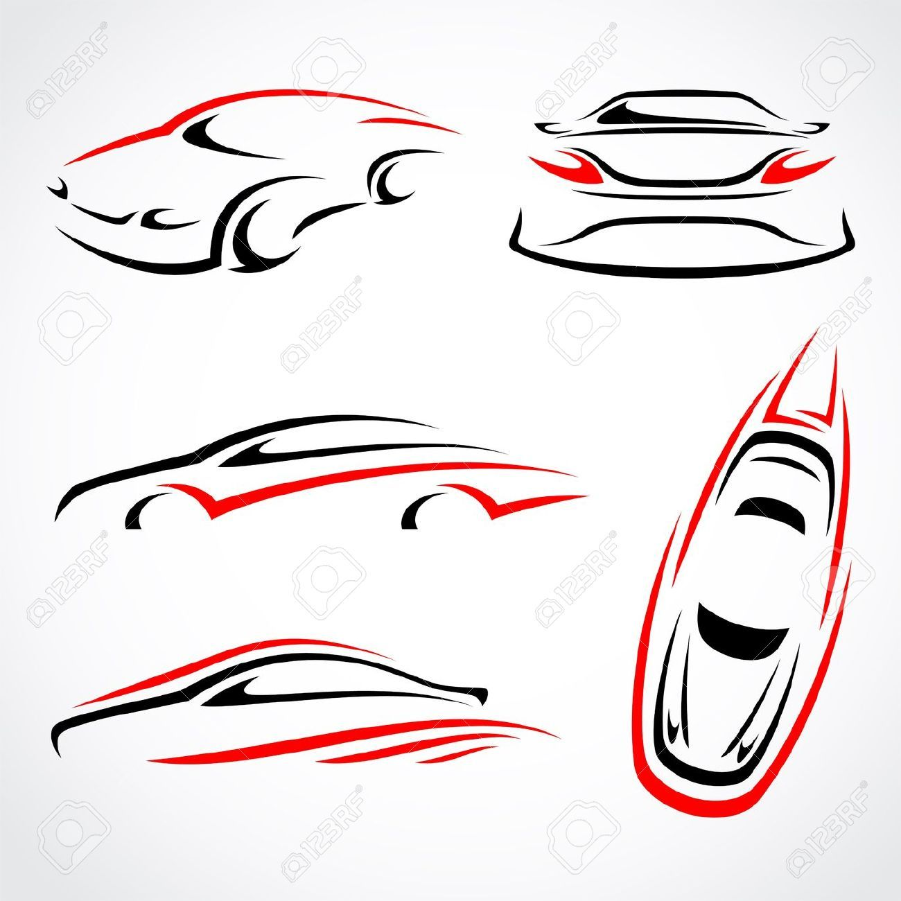 some abstract race car ideas Graphic design programs