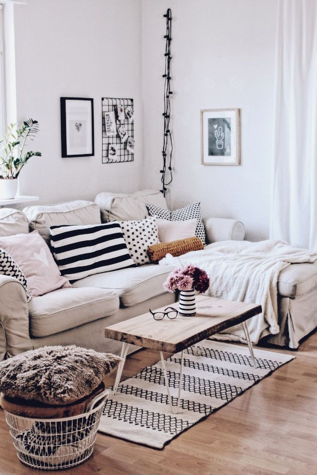 49 Astonishing Scandinavian Living Room To Rock This Year ...