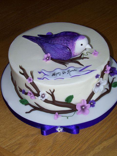 Purple Bird by Erin Salerno, via Flickr