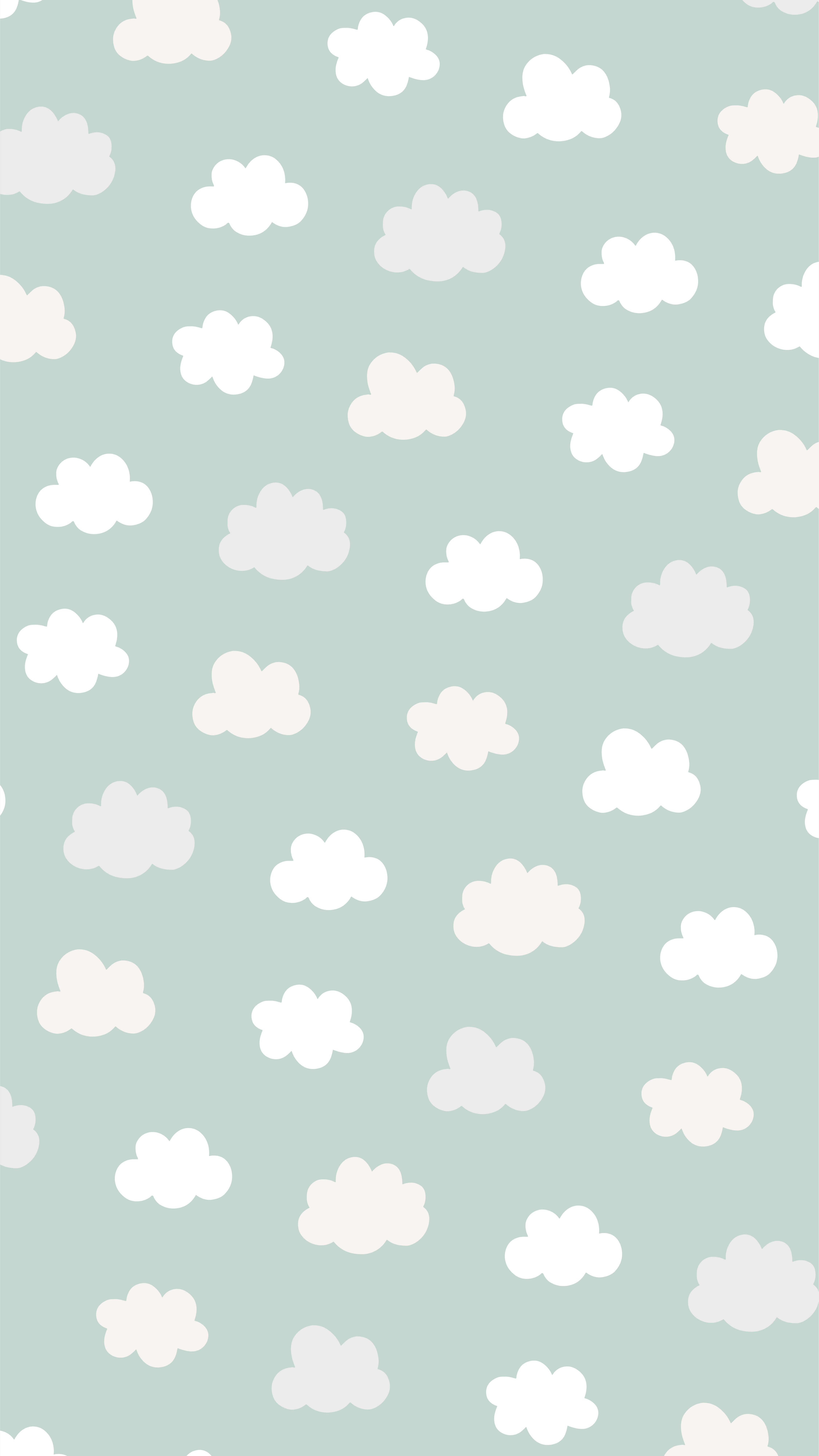 Prints By Rachael Clouds Cute Wallpapers Wallpaper Cute Backgrounds