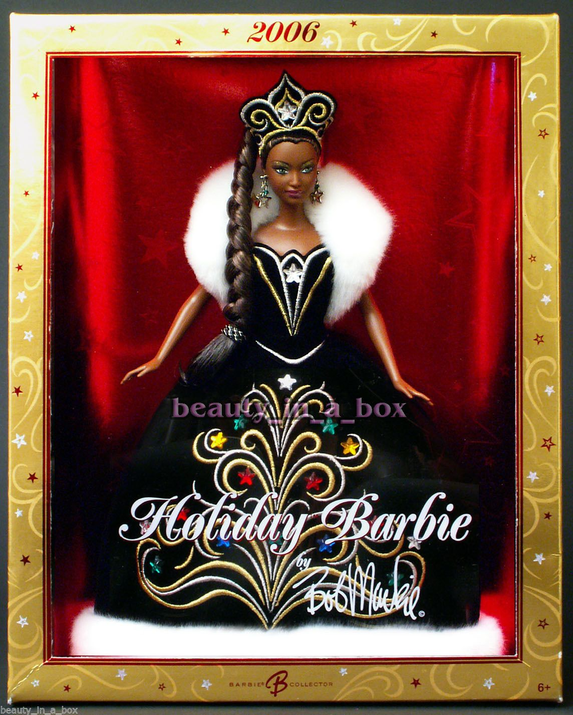 2006 Holiday Barbie Doll Celebration Christmas AA African