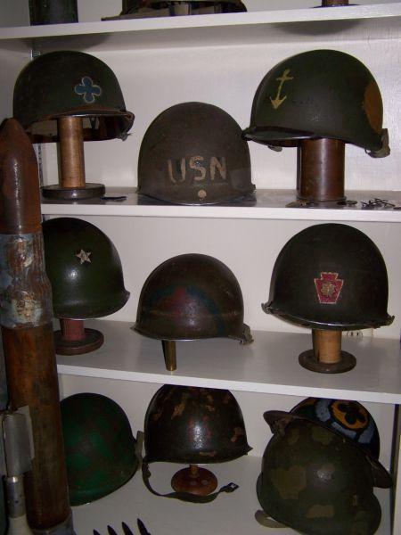 Vintage Military Helmet Display Military Helmets Vintage Military Decor Helmet