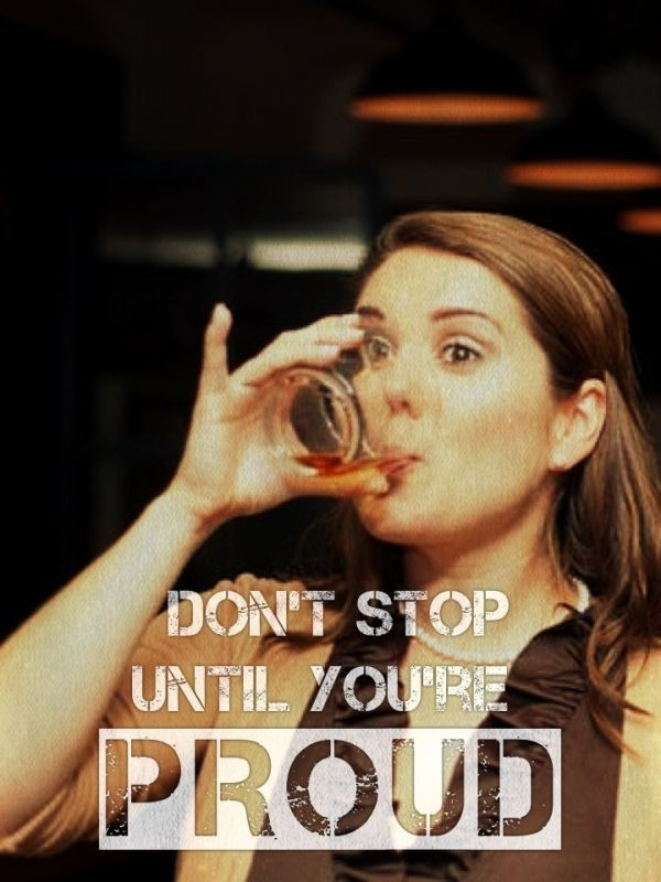 Adding inspirational athletic quotes to pictures of drunk people changes…