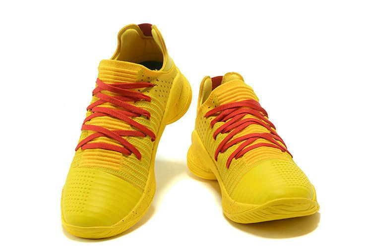 online store 5d2cf c8a20 New Curry Shoes 2018 UA Curry 4 Low Basketball Shoes Yellow ...