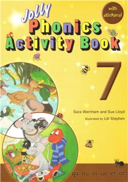 Jolly Phonics Activity Book 7 photos (มีรูปภาพ)