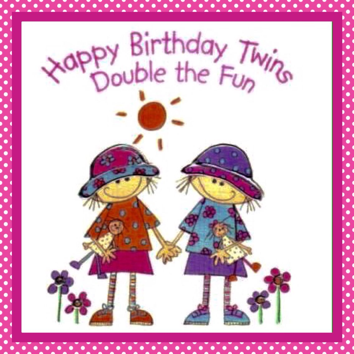 Twins birthday twin sisters mellizas gemelas pinterest twin twins birthday kristyandbryce Gallery