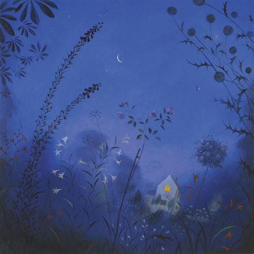 Nicholas Hely Hutchinson  Summer Night in the Garden is part of Night garden Illustration -