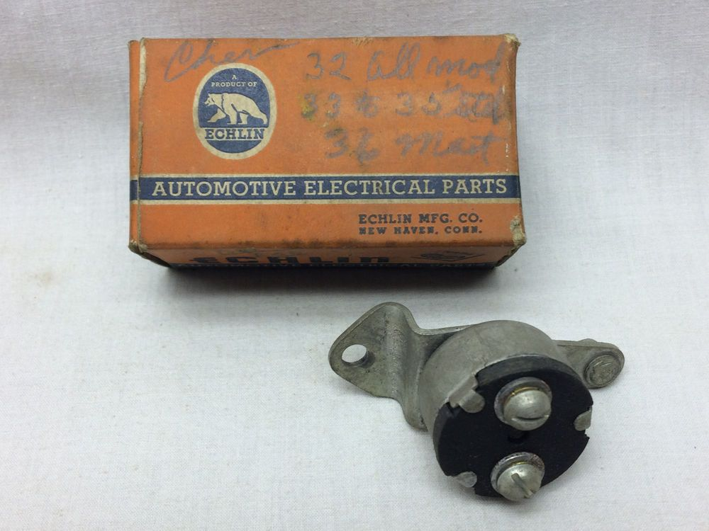 Vintage Echlin Automotive Electrical Part Stoplight Switch Sl 108 Original Box Echlin Automotive Electrical Stop Light Original Box