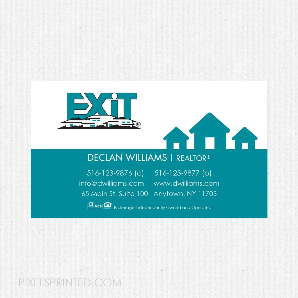 Exit Business Card Magnets Magnetic