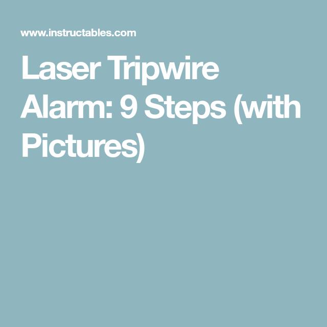 Laser Tripwire Alarm