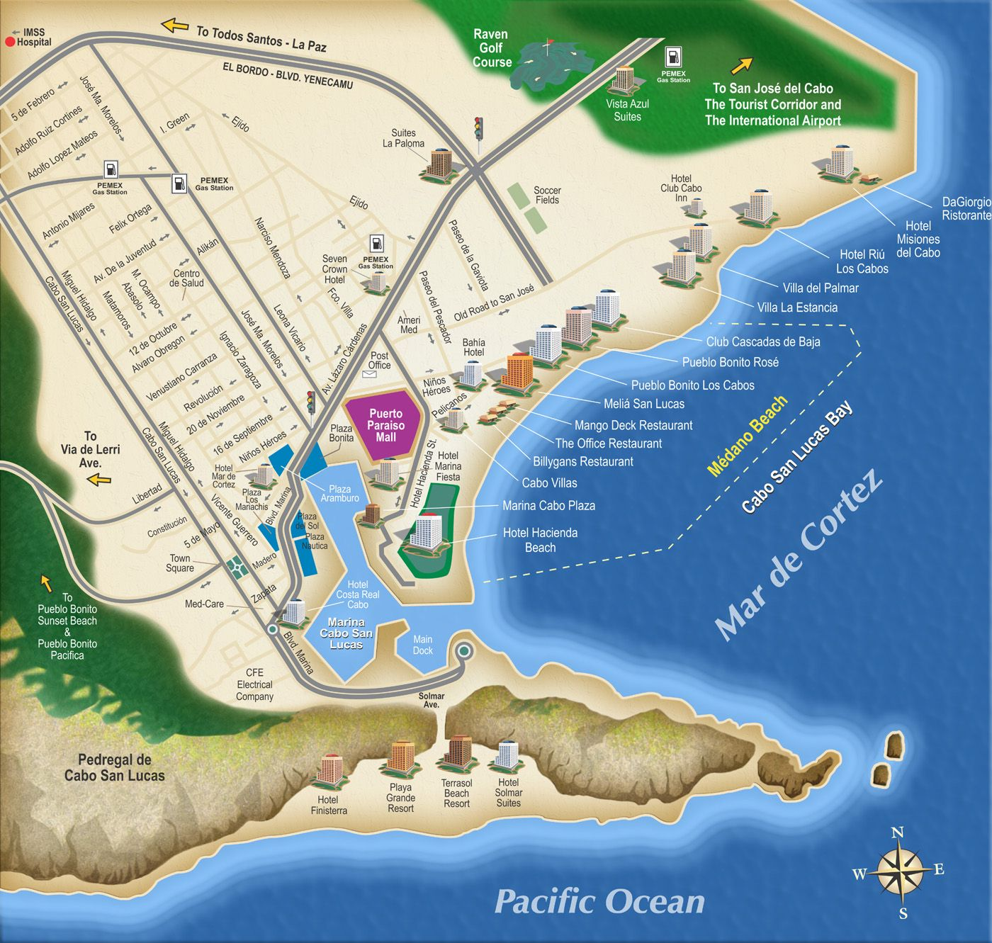 Pin by SouthWest Sportsmen on I LOVE MAPS in 2019 | Cabo san ...
