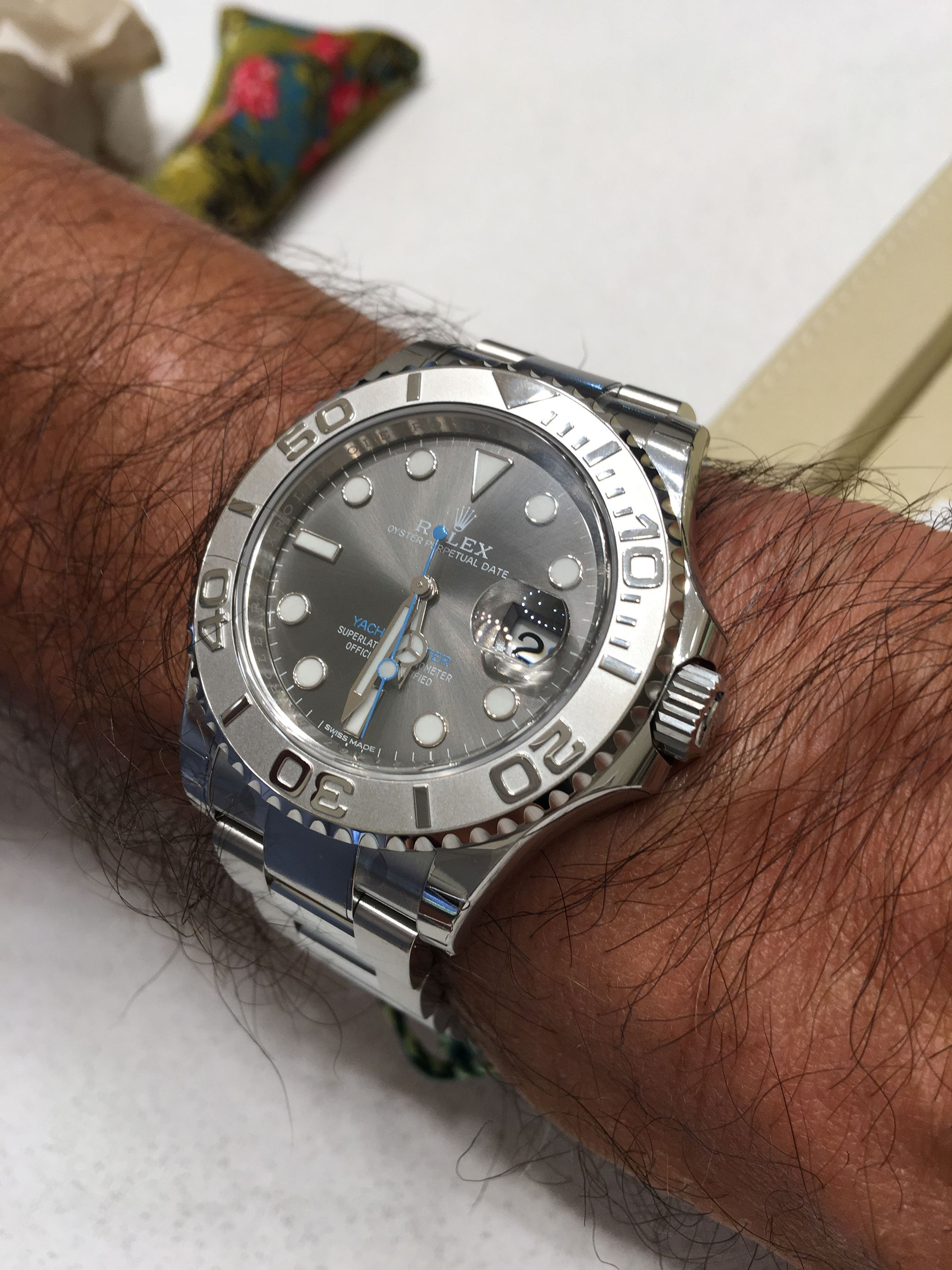 Rolex Yachtmaster 40 Dark Rhodium Dial