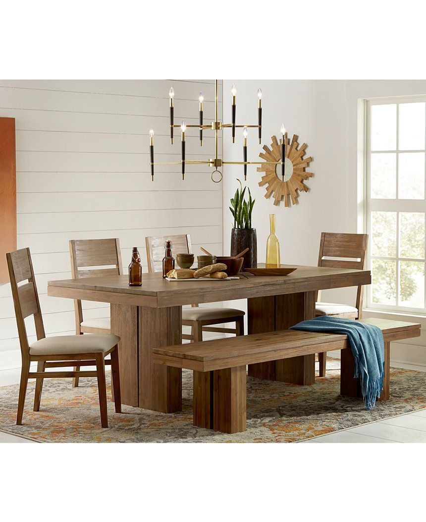 Champagne Dining Room Furniture 7 Piece Set Created For Macy's Amusing Macys Dining Room Chairs Design Ideas