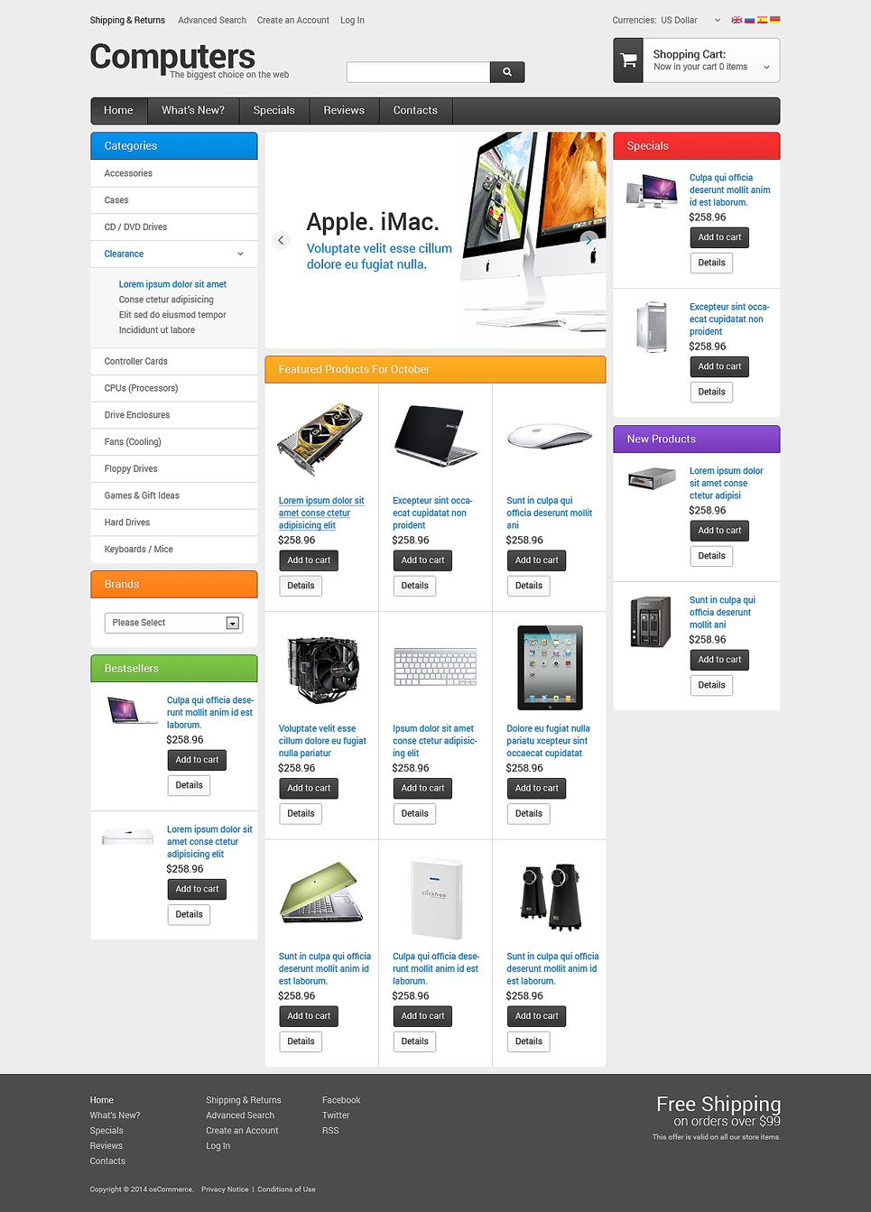 computer store oscommerce template oscommerce premium template rh pinterest com Adult osCommerce Templates osCommerce Software