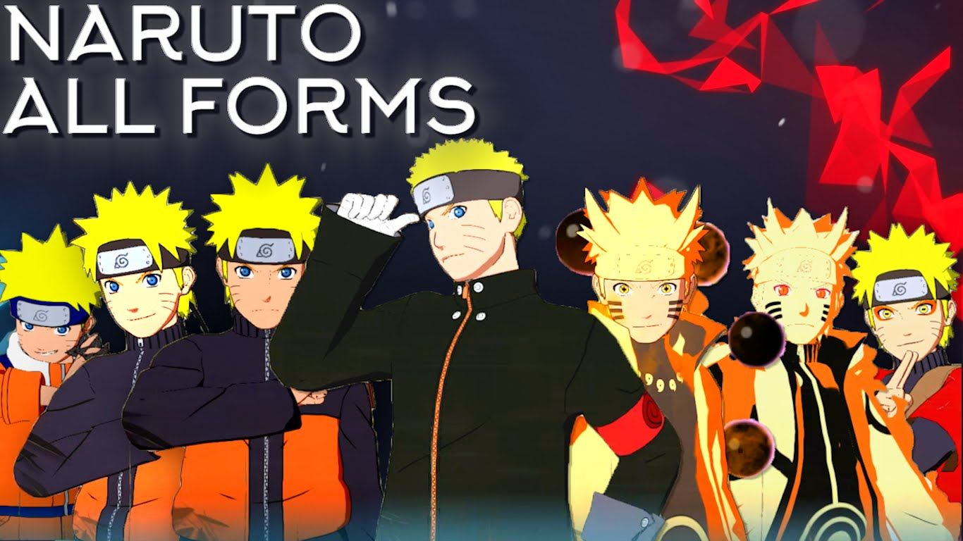 Naruto Moveset All 8 Forms+Combo+Awakening[Showcase] Naruto