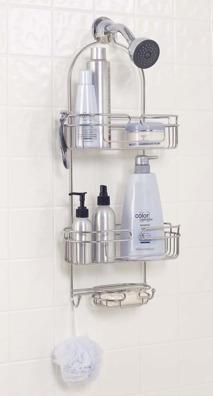 Zenith Products Over The Shower Caddy Stainless Steel Is The Best