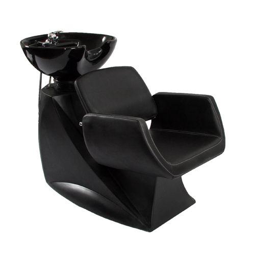 All in one back wash shampoo unit k4123 reclining for Shampoo bowls