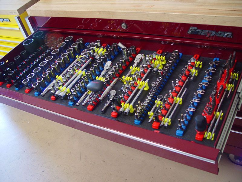Incroyable Tool Box Organization