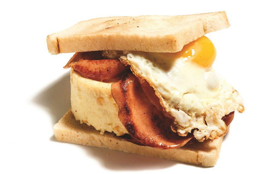 Around the world in 17 breakfast sandwiches food