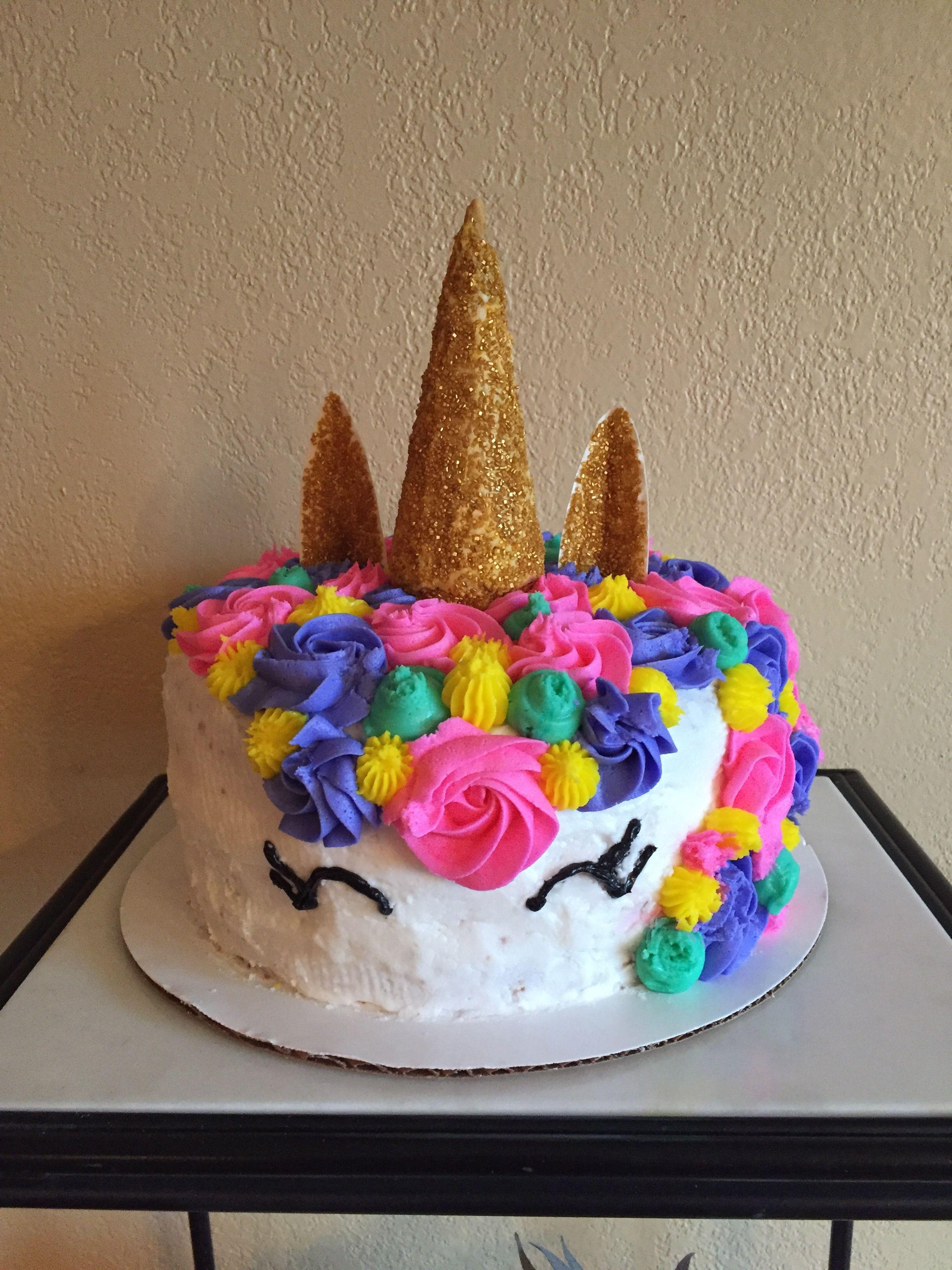 Unicorn Cake Bux Girls Cupcakes Caramel Corn Pinterest Girl