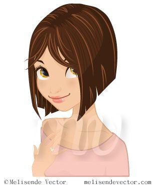 result girl short hair