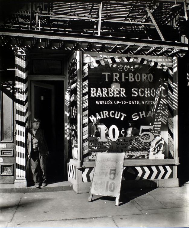 Haircuts Use To Cost 10cents Back In 1935 In Manhattan News You
