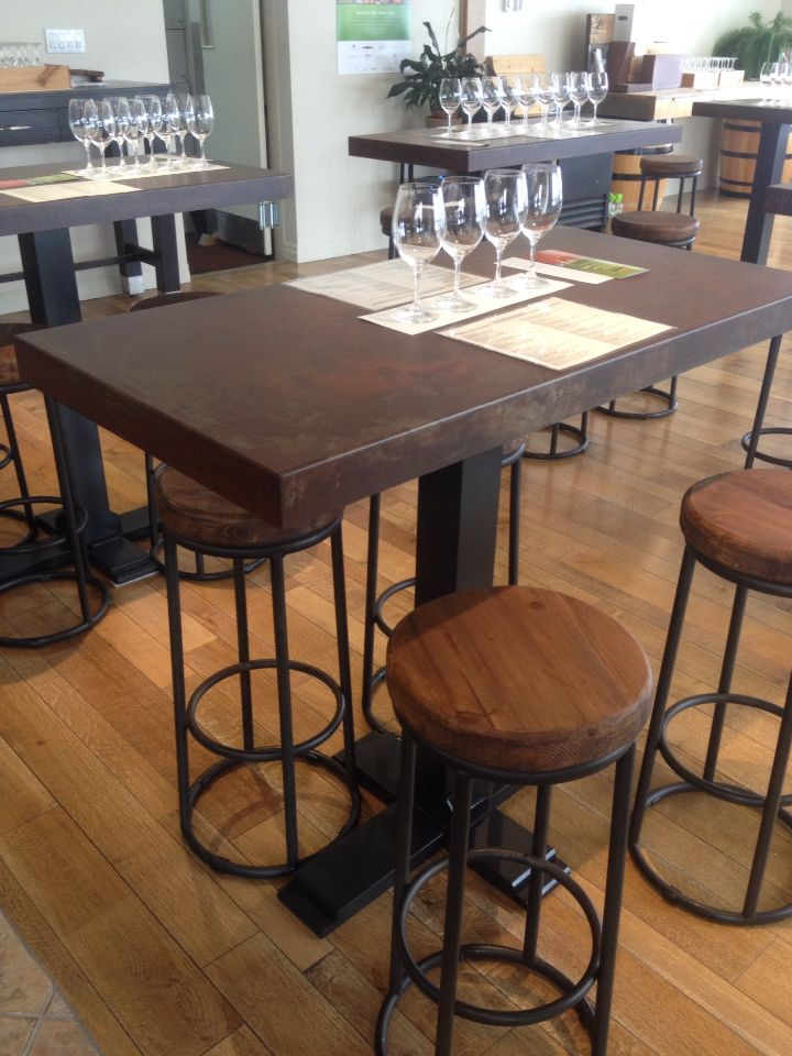 Custom Build Tables For Thirty Bench Winery IronWorksNiagaraNF