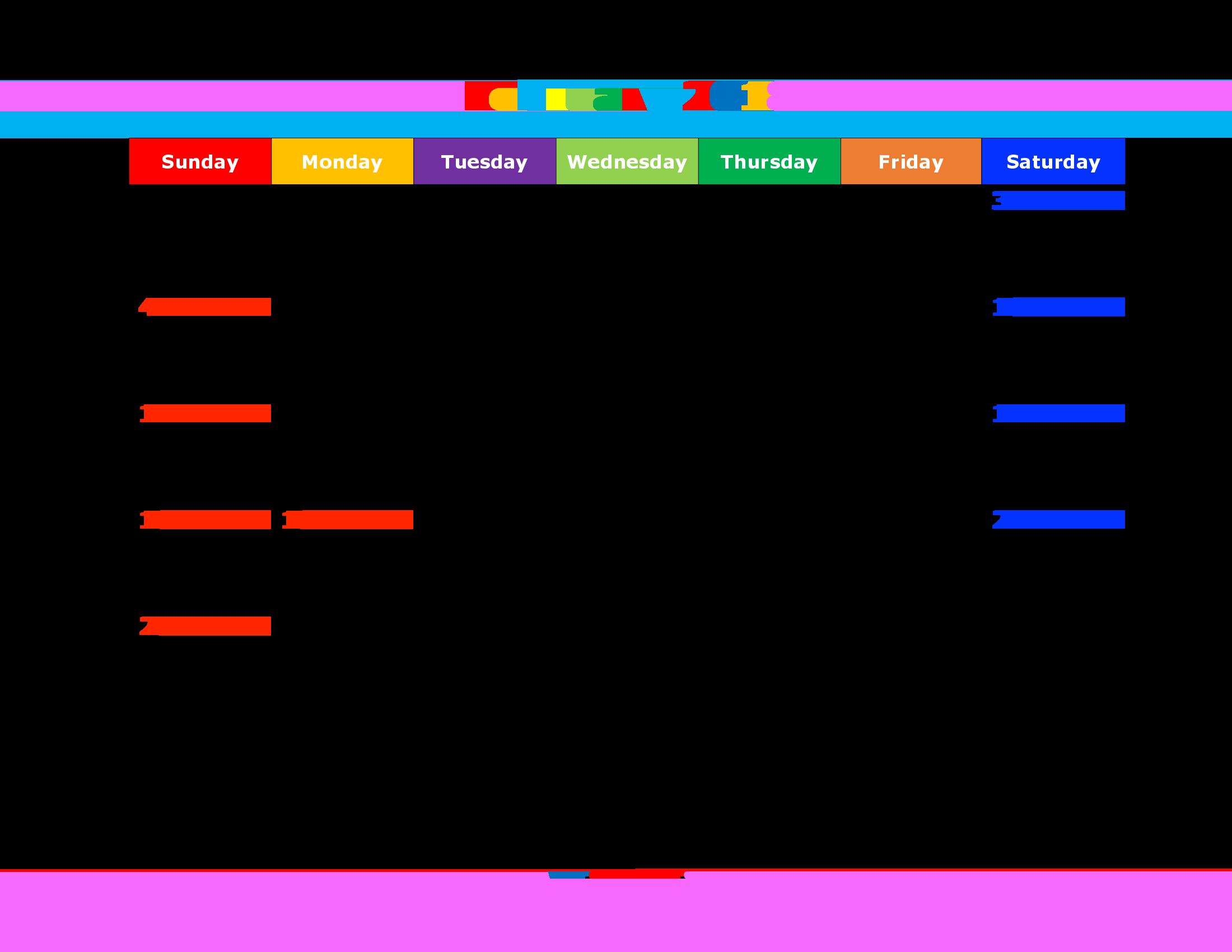 printable 2018 calendar with holidays