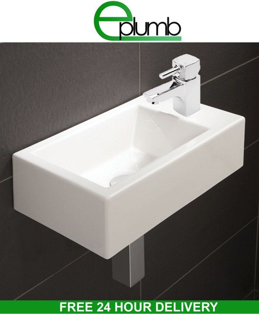 small rectangle bathroom sink small compact square rectangle cloakroom basin bathroom 20557