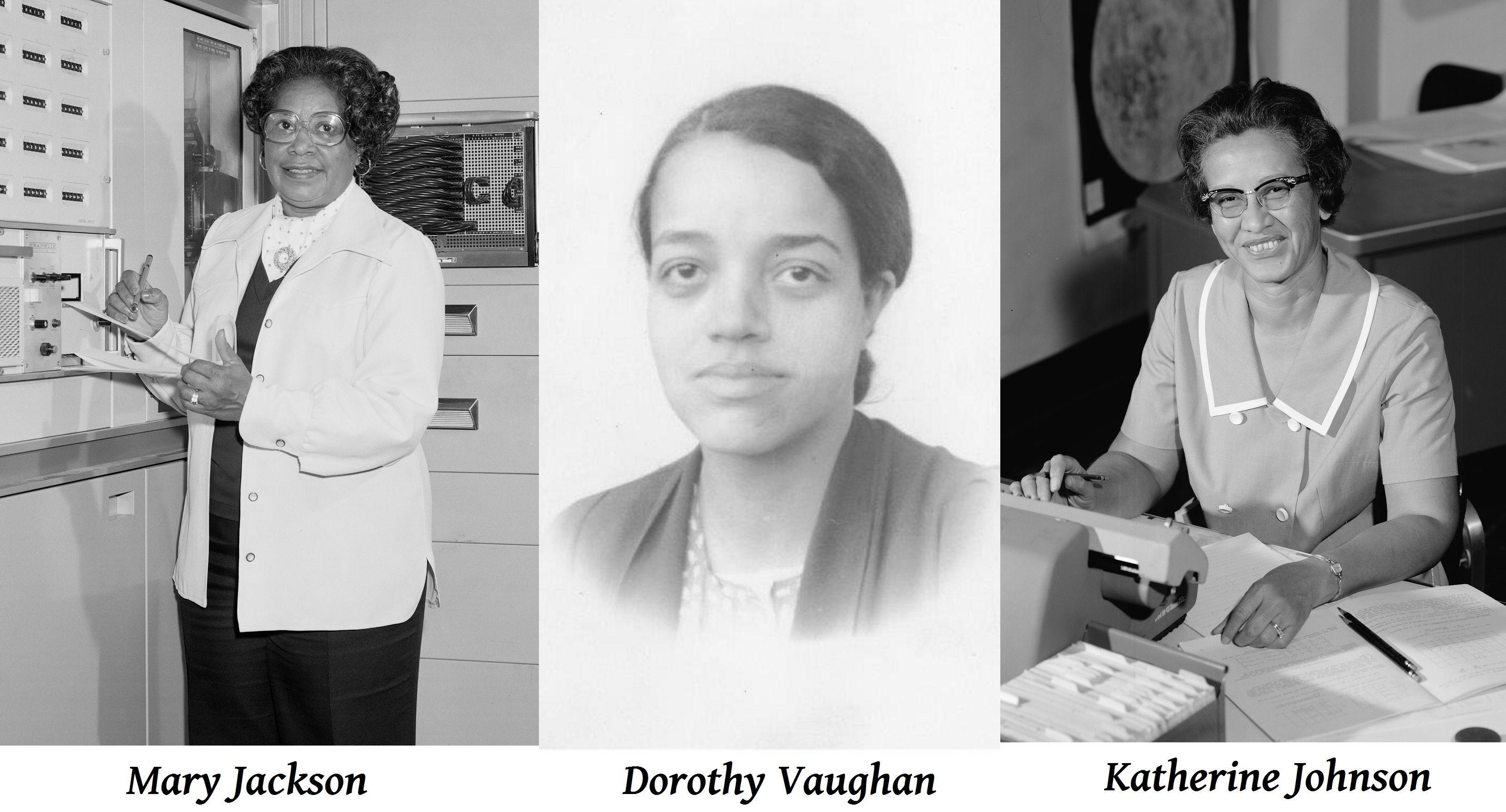 Hidden-Figures-women.jpg (3264×1760) | Real women, Katherine johnson