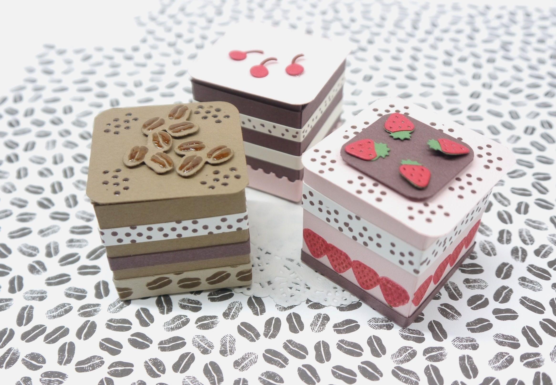 Verpackung Petit four eine besondere Geschenkidee | Raffaelo ...