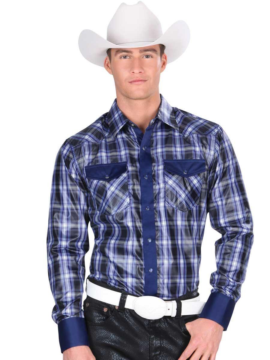 Azul Marino Y Verde Camisa Purposeful Calida Nuevo Con Etiqueta Hombre S
