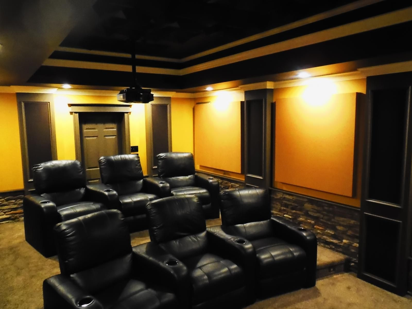 Creekside Stone Cinema   AVS Forum | Home Theater Discussions And Reviews