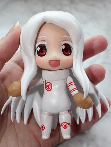 Custom Shiro Nendroid Figure.