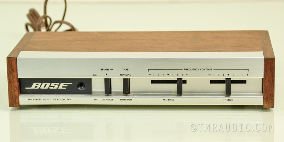 Bose 901 Series Iii Equalizer  Eq