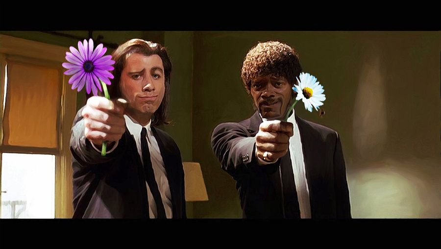 Pulp Fiction Happy Birthday Pulp Fiction Pg 13 By 2headedmonster